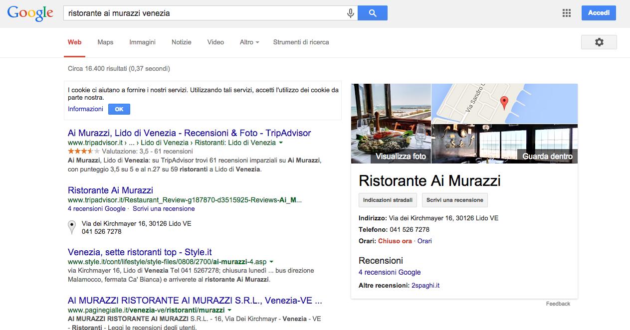 Ricerca Google