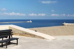 St.Elmo e Riccasoli lighthouses dal sieg-La Valletta