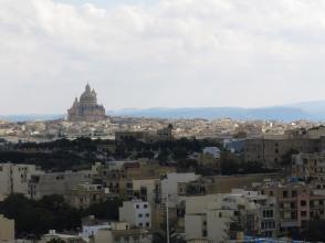 Vista su Rabat dalla Cittadella-Gozo